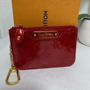 Louis Vuitton Vernis cles coin purse